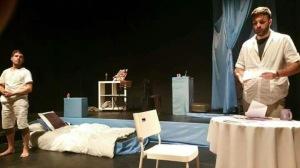 'Descansa amb en Pau', teatro.